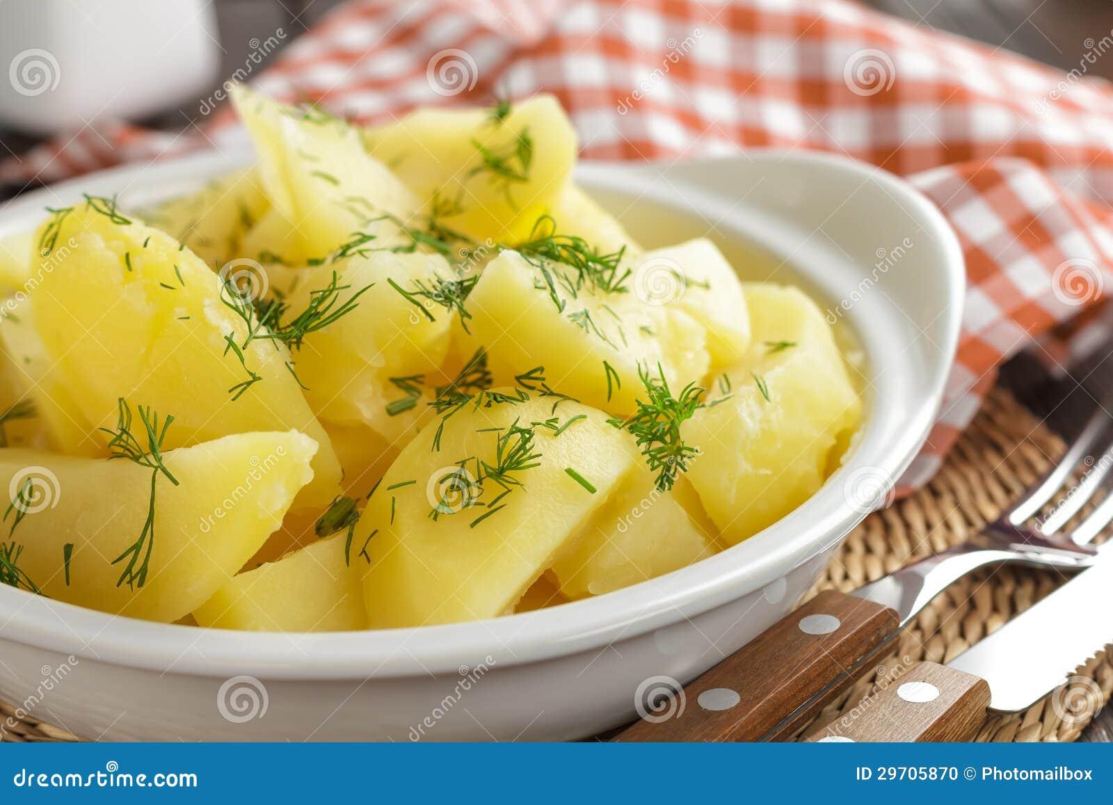 Boiled Potatoes Stock Photo - Image: 29705870