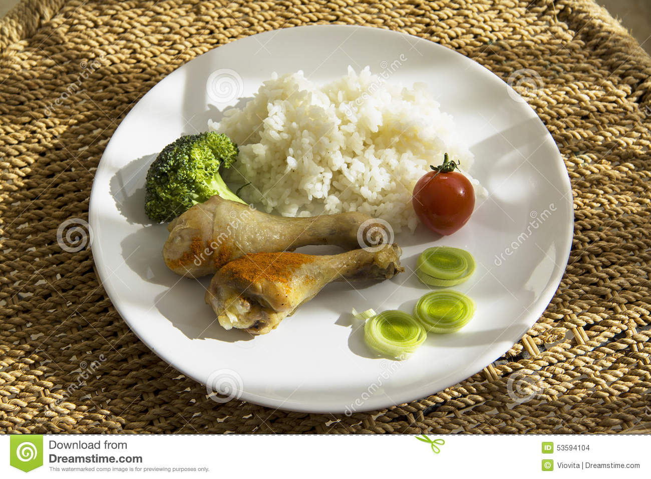 how to make boiled chicken and rice