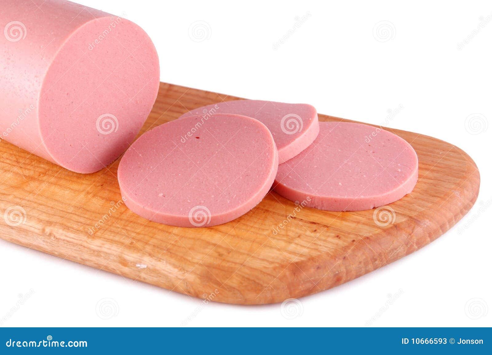 Boiled Sausage Stock Photos Image 10666593