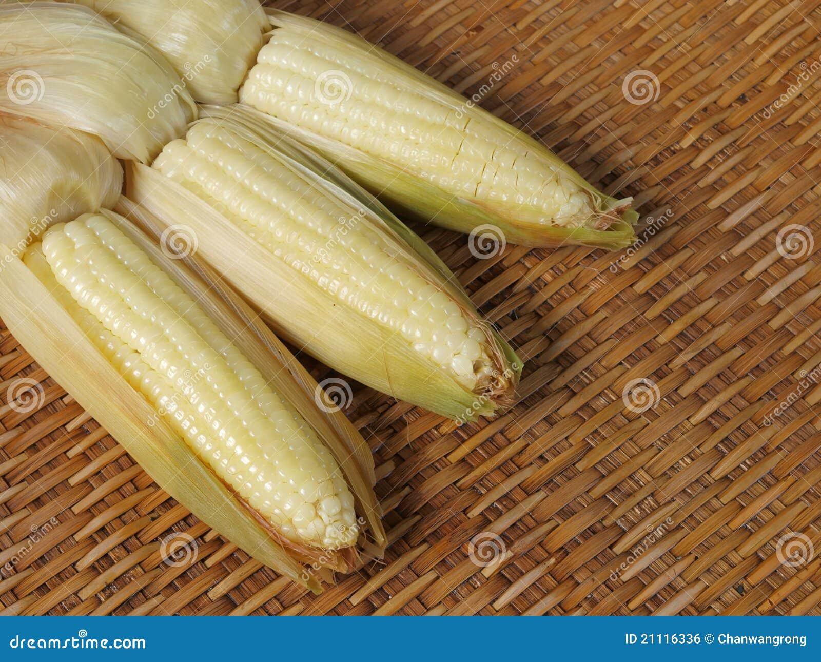 Boiled Waxy Corn Royalty Free Stock Image - Image: 21116336