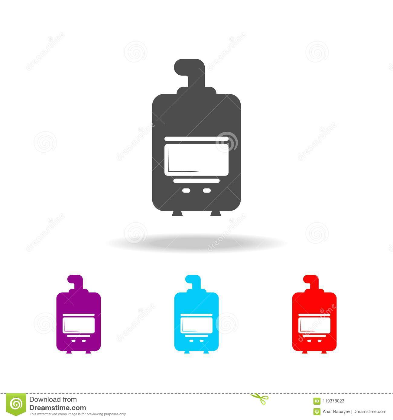 Boiler Icon. Elements Of Heating In Multi Colored Icons. Premium ...