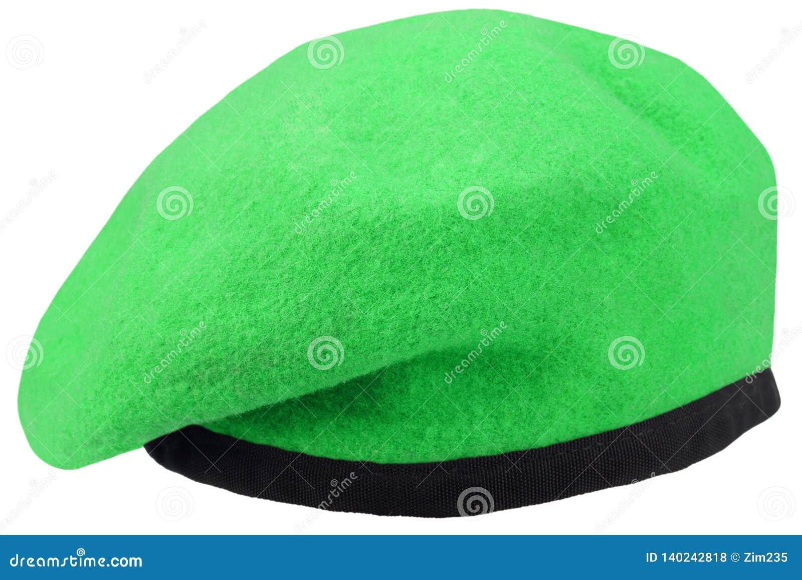 Boina verde das tropas militares