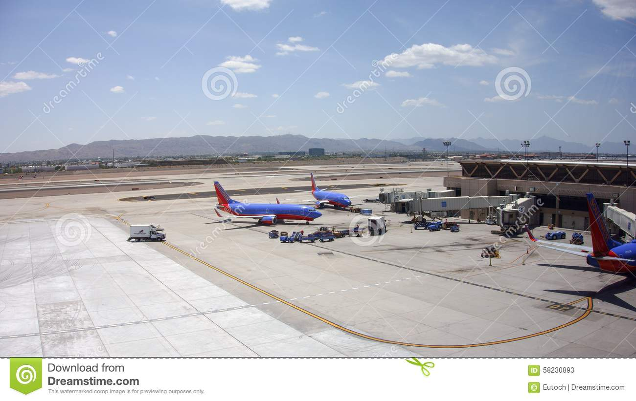 Boeing 737 Of Southwest Airlines In Phx Az Editorial Stock Photo