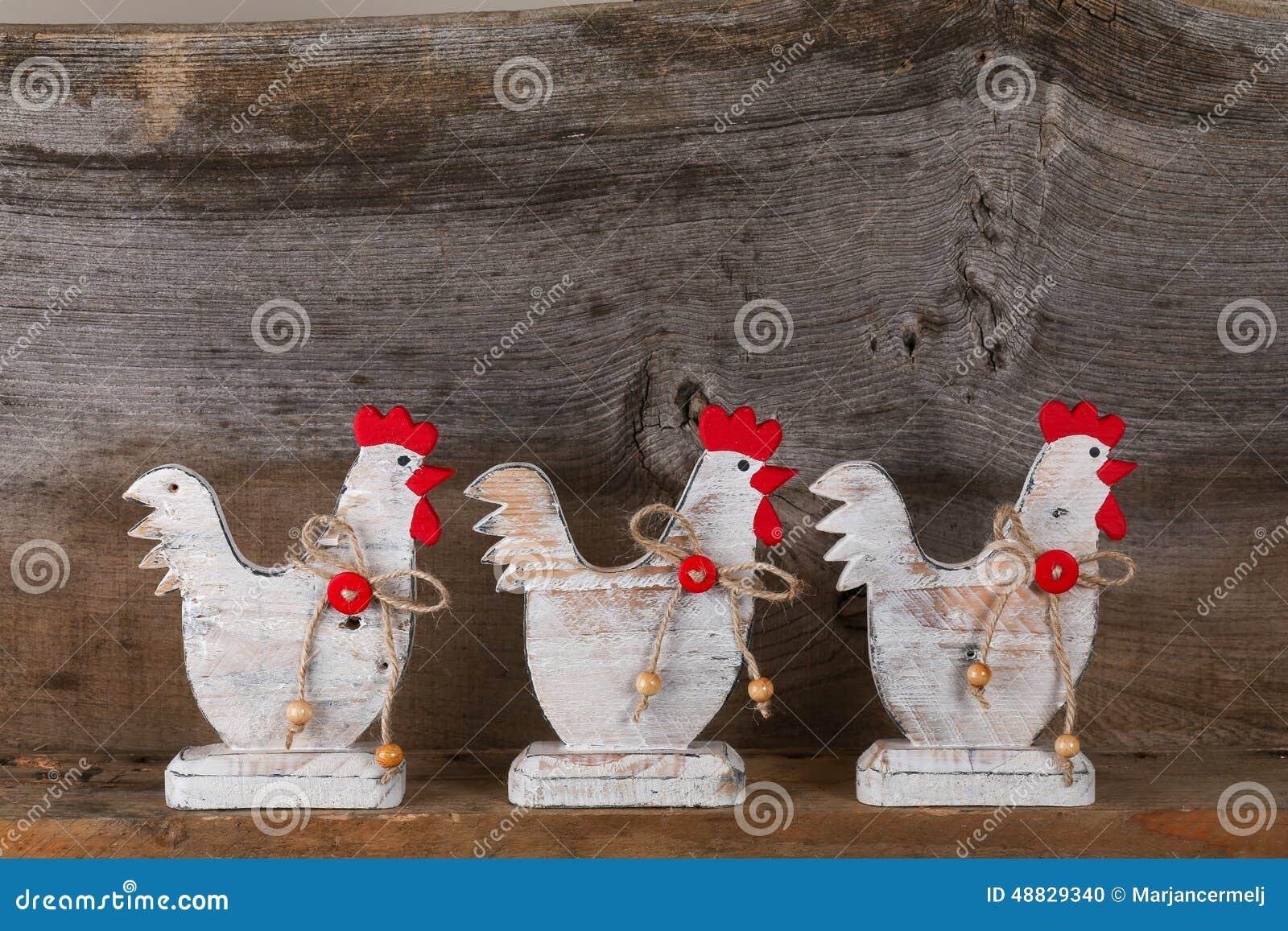 Bois blanc bienvenu dr le de cuisine de cottage de pays de for Decoration poule pour cuisine