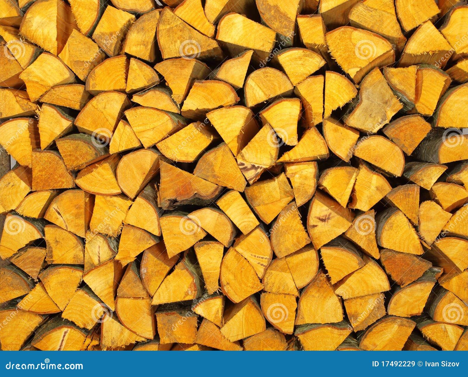 Bois de chauffage de bois d 39 aulne image stock image 17492229 - Aulne bois de chauffage ...