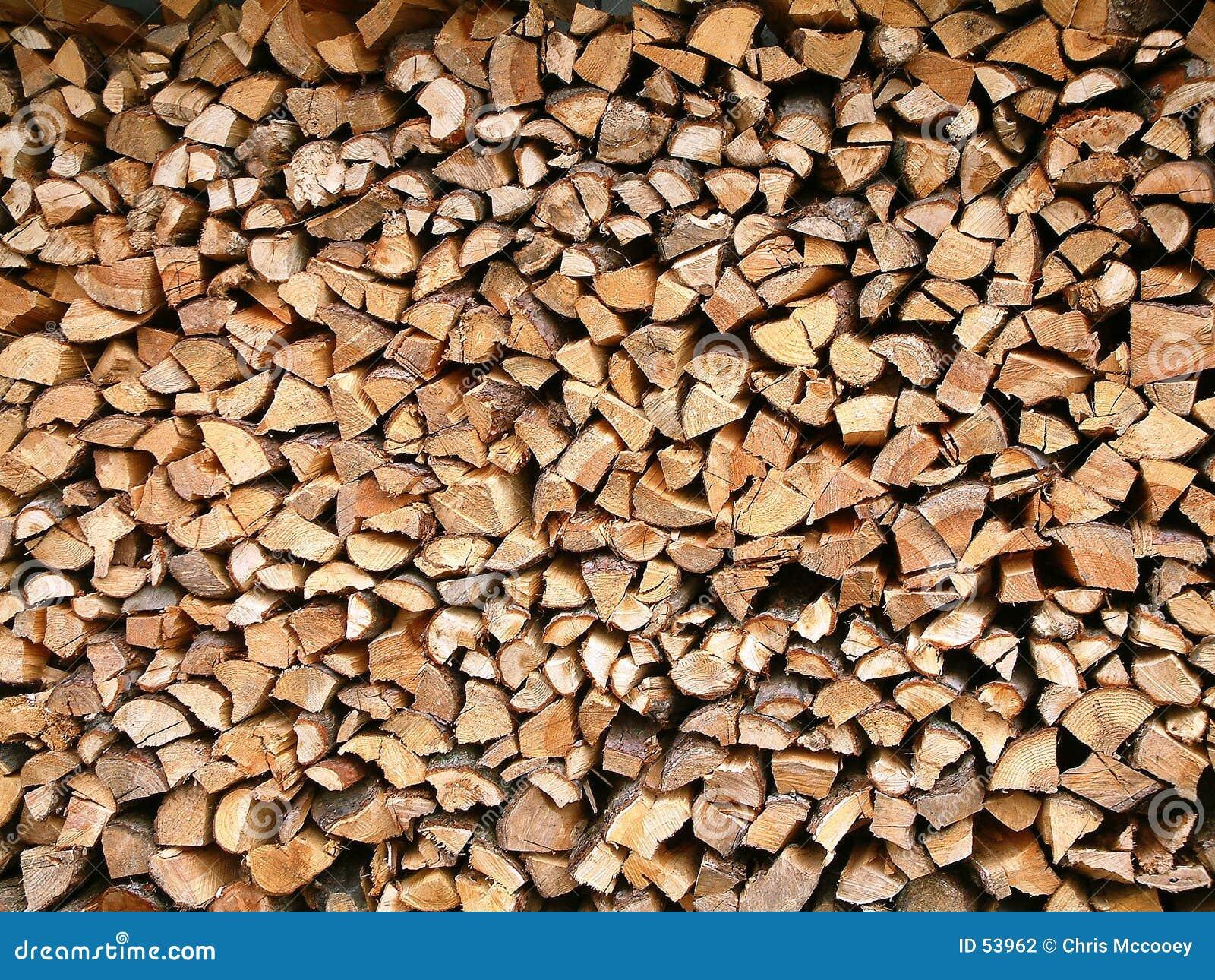 Download Bois empilé photo stock. Image du environnement, forêt, fond - 53962