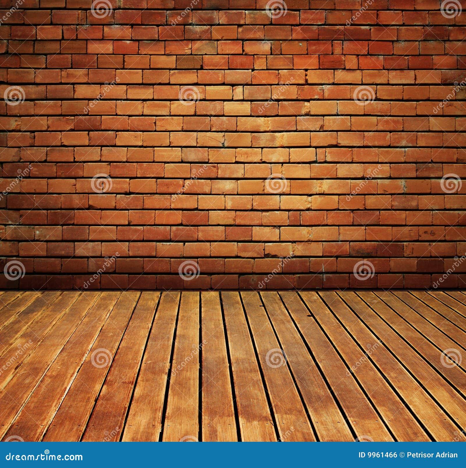Bois int rieur de mur de cru de texture d 39 tage de brique for Mur en bois interieur