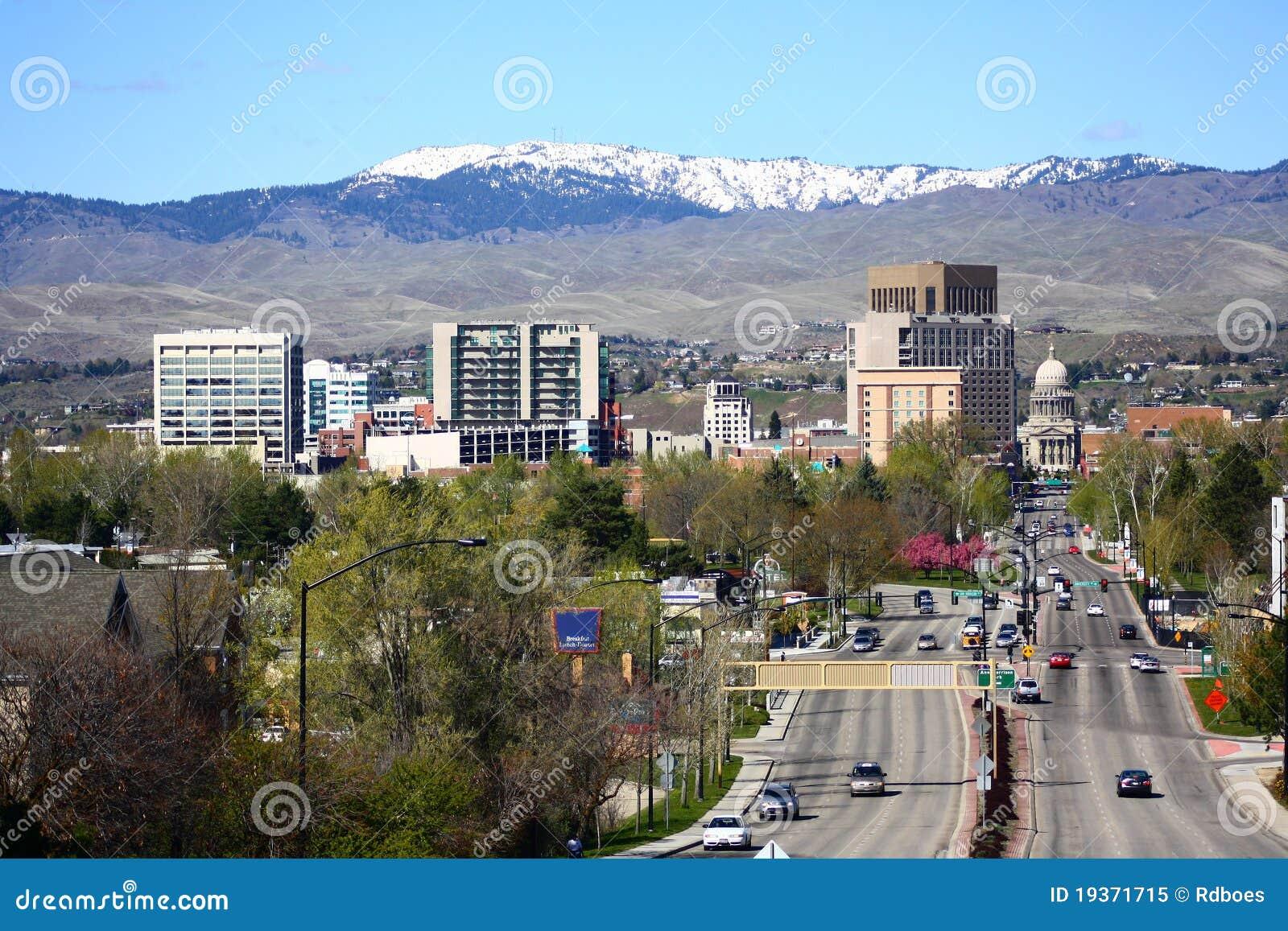 Boise da baixa Idaho
