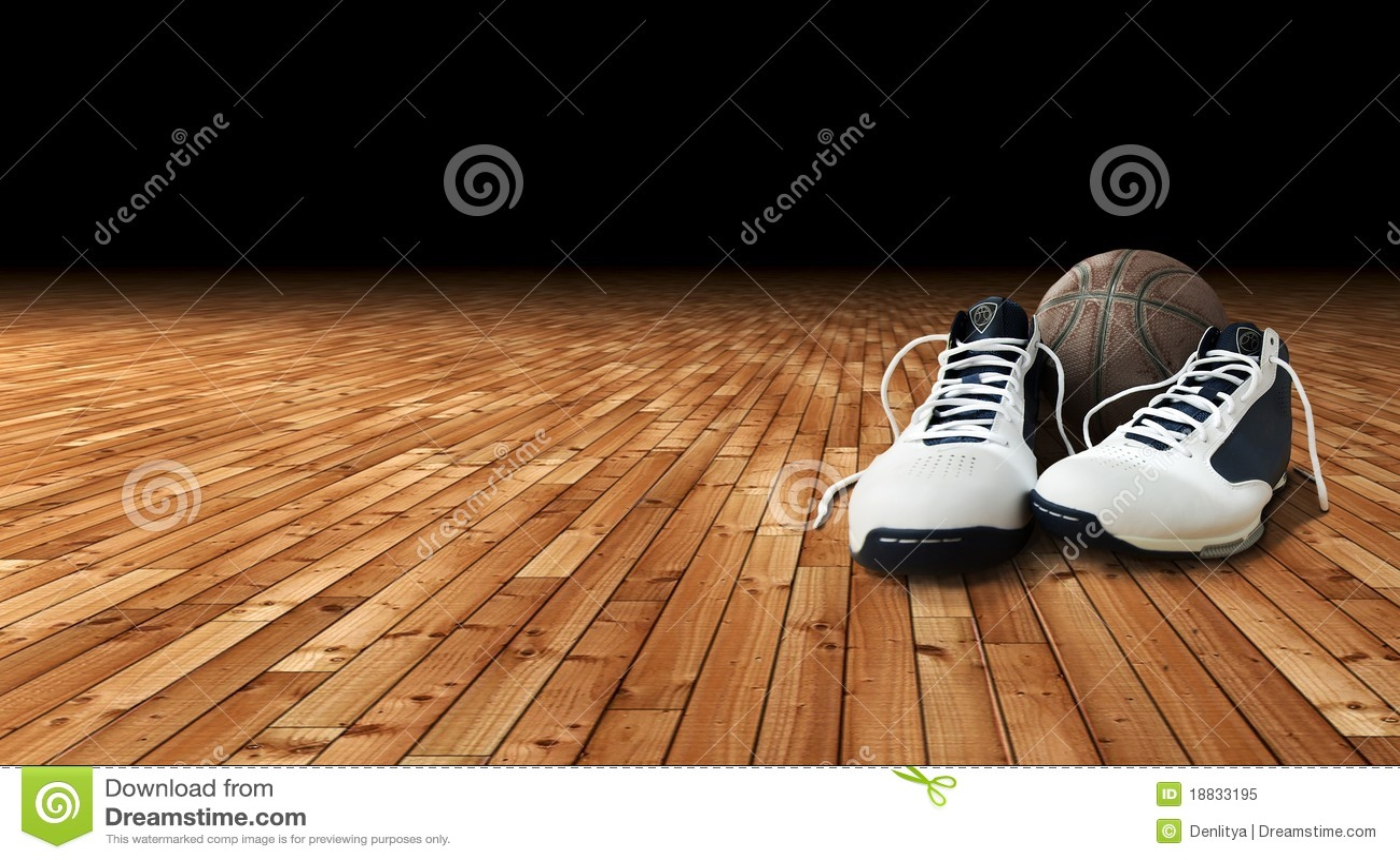 Boisko do koszykówki balowi buty