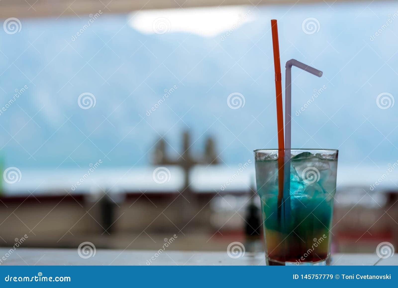 Boisson bleue d Hawa?