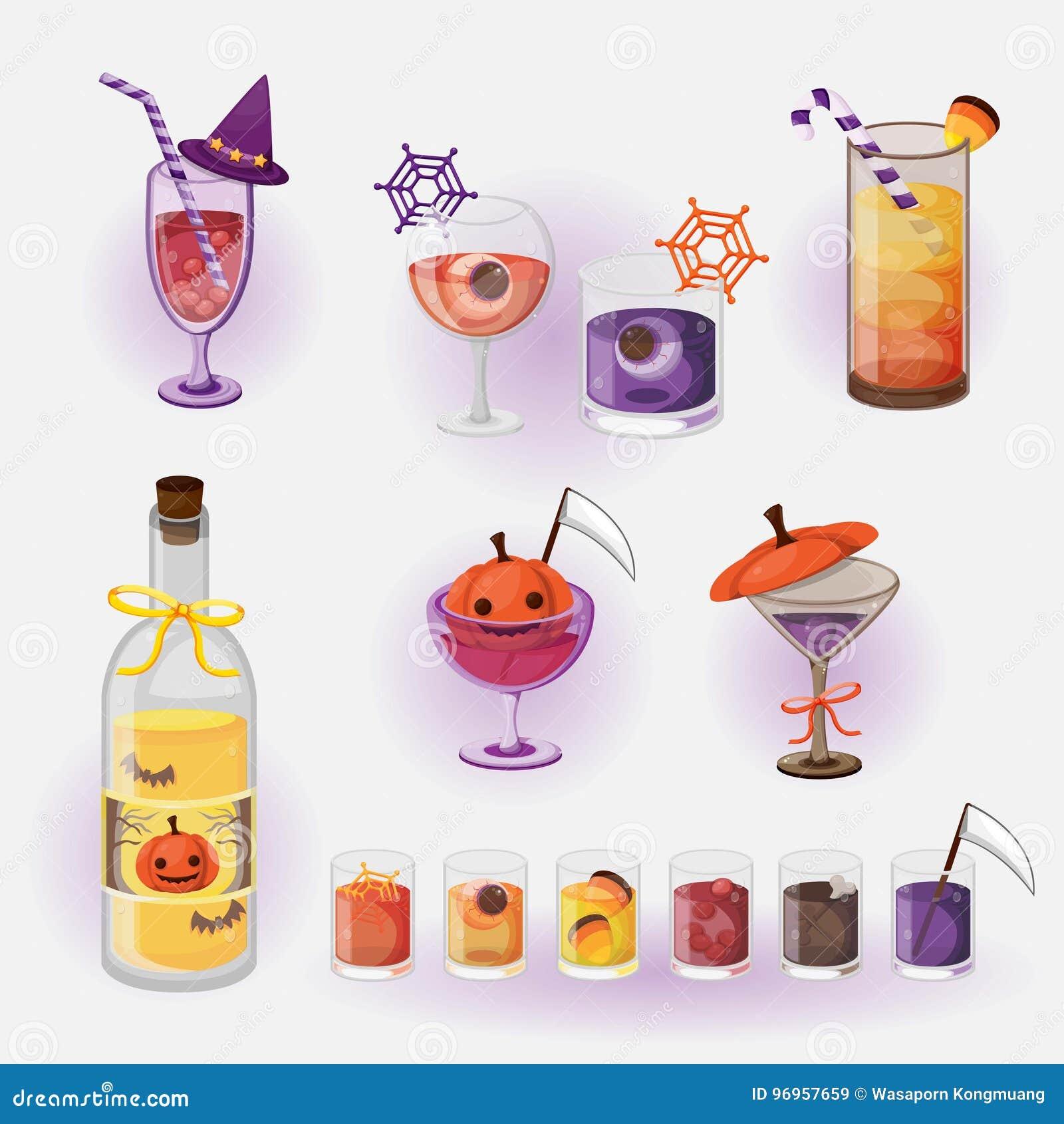 Boisson de Halloween
