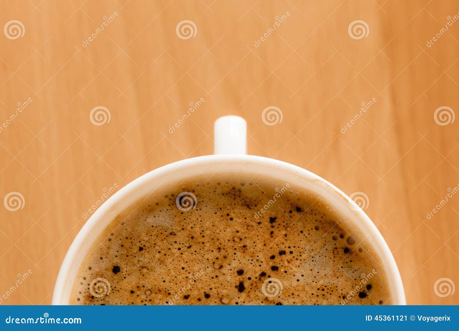 Boisson Tasse de café chaud de boissons avec la mousse