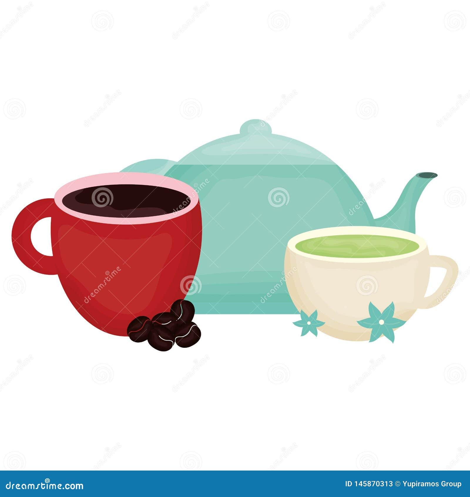 Boissons de th?i?re et de caf? de cuisine