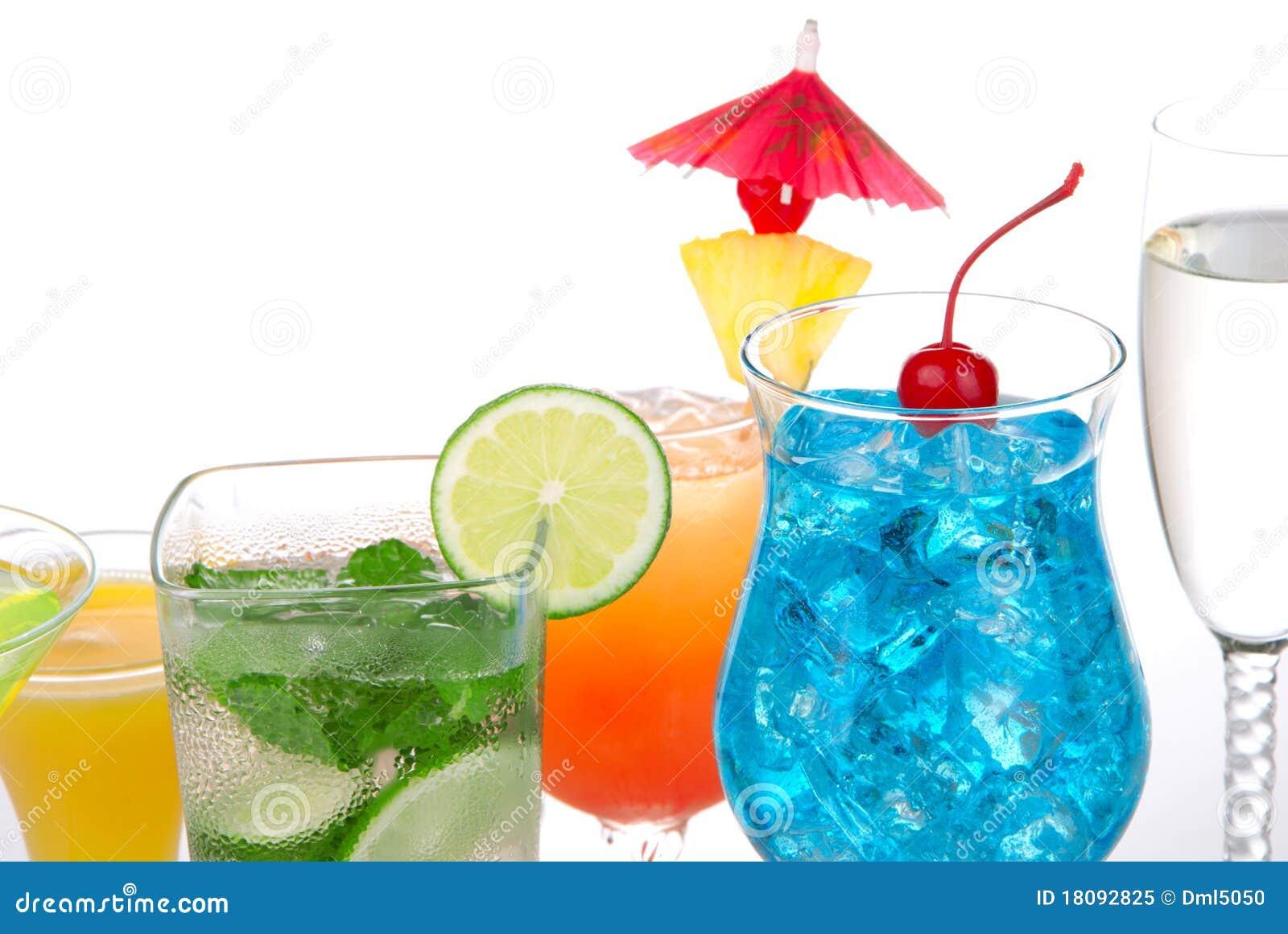 Boissons populaires de cocktails avec de l alcool