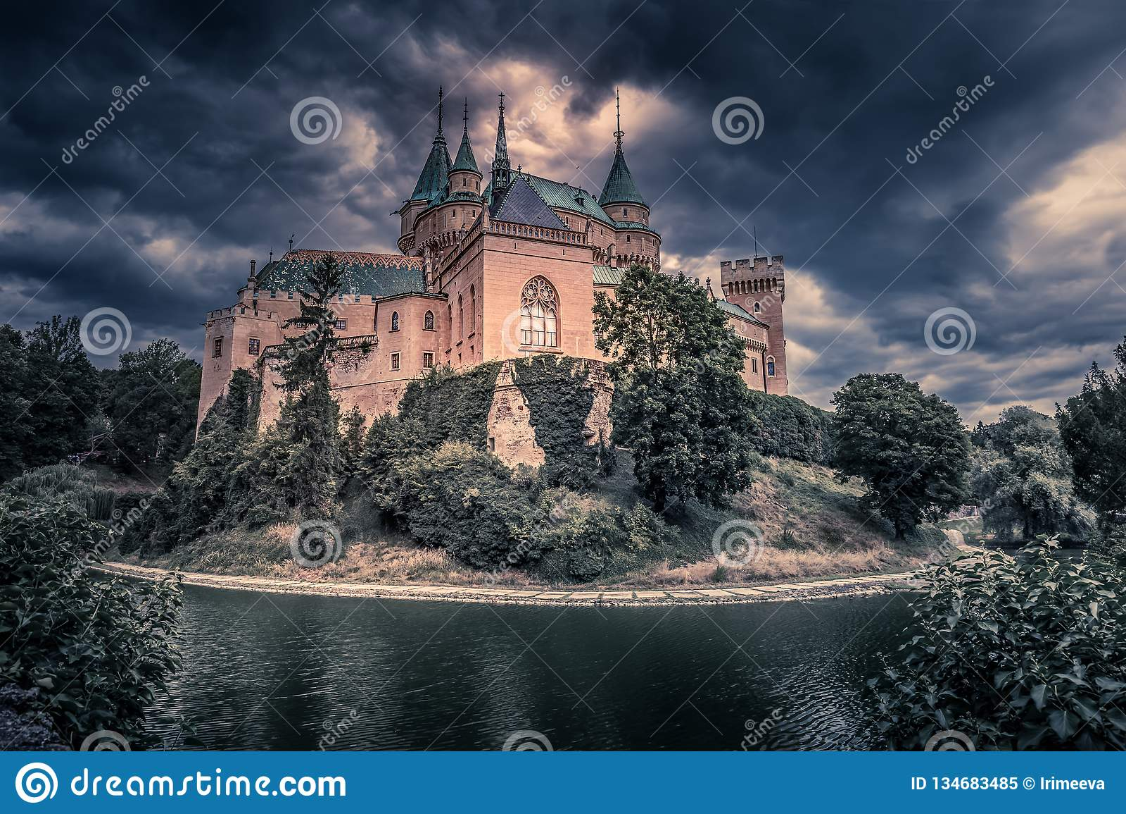 Bojnice kasztel - Słowacka republika