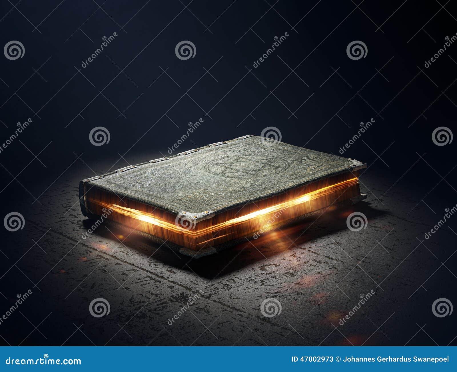 Bok med magisk överhet