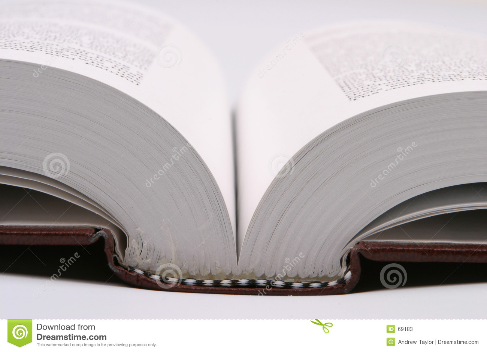 Bok som öppet