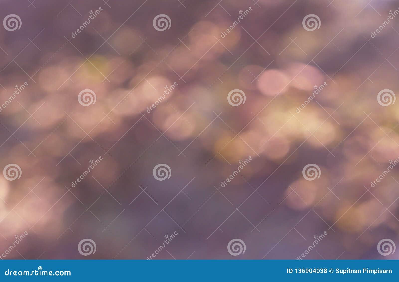Bokeh抽象浅粉红色的背景影像纹理减速火箭在Valentine's天