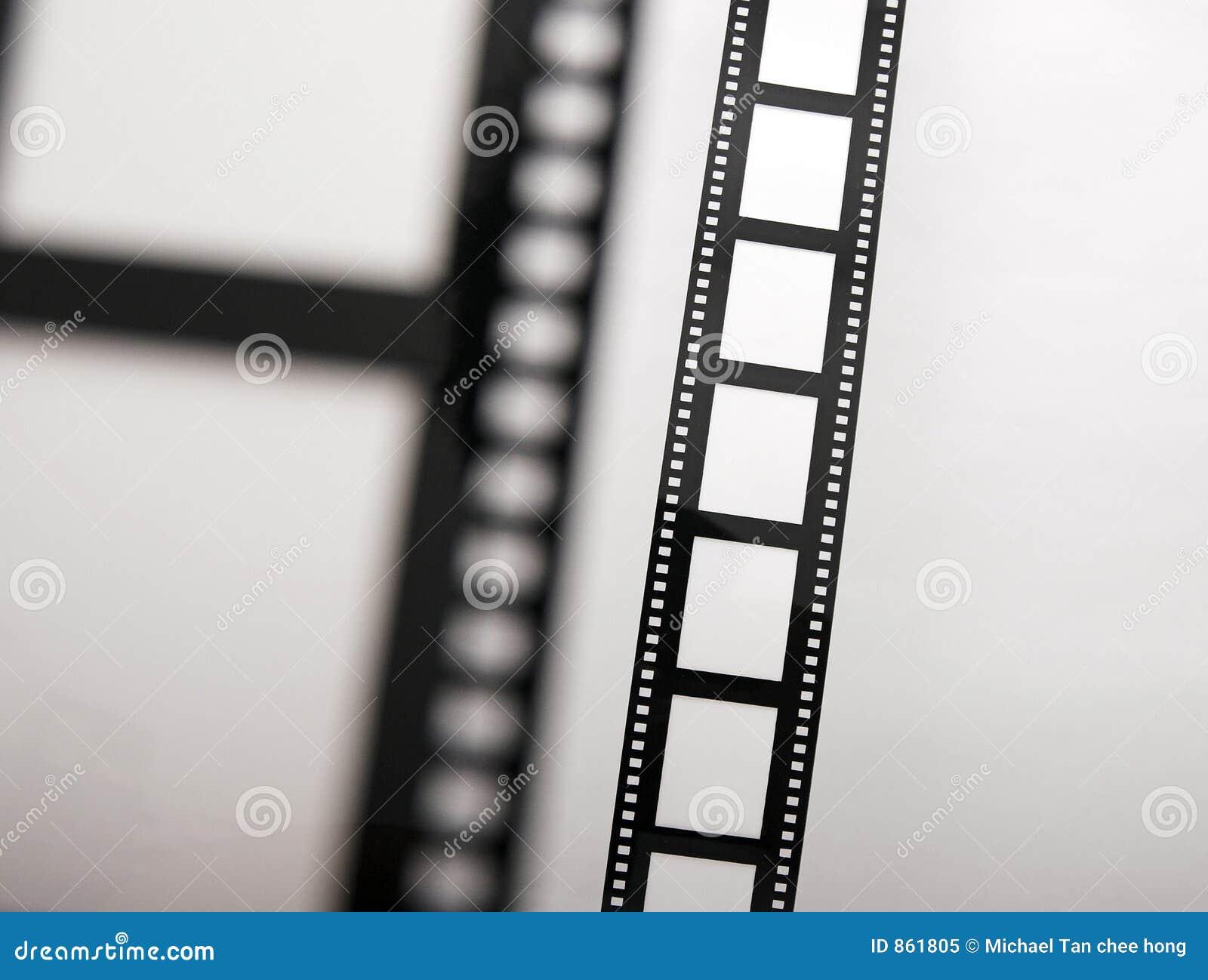 Bokeh λουρίδες ταινιών