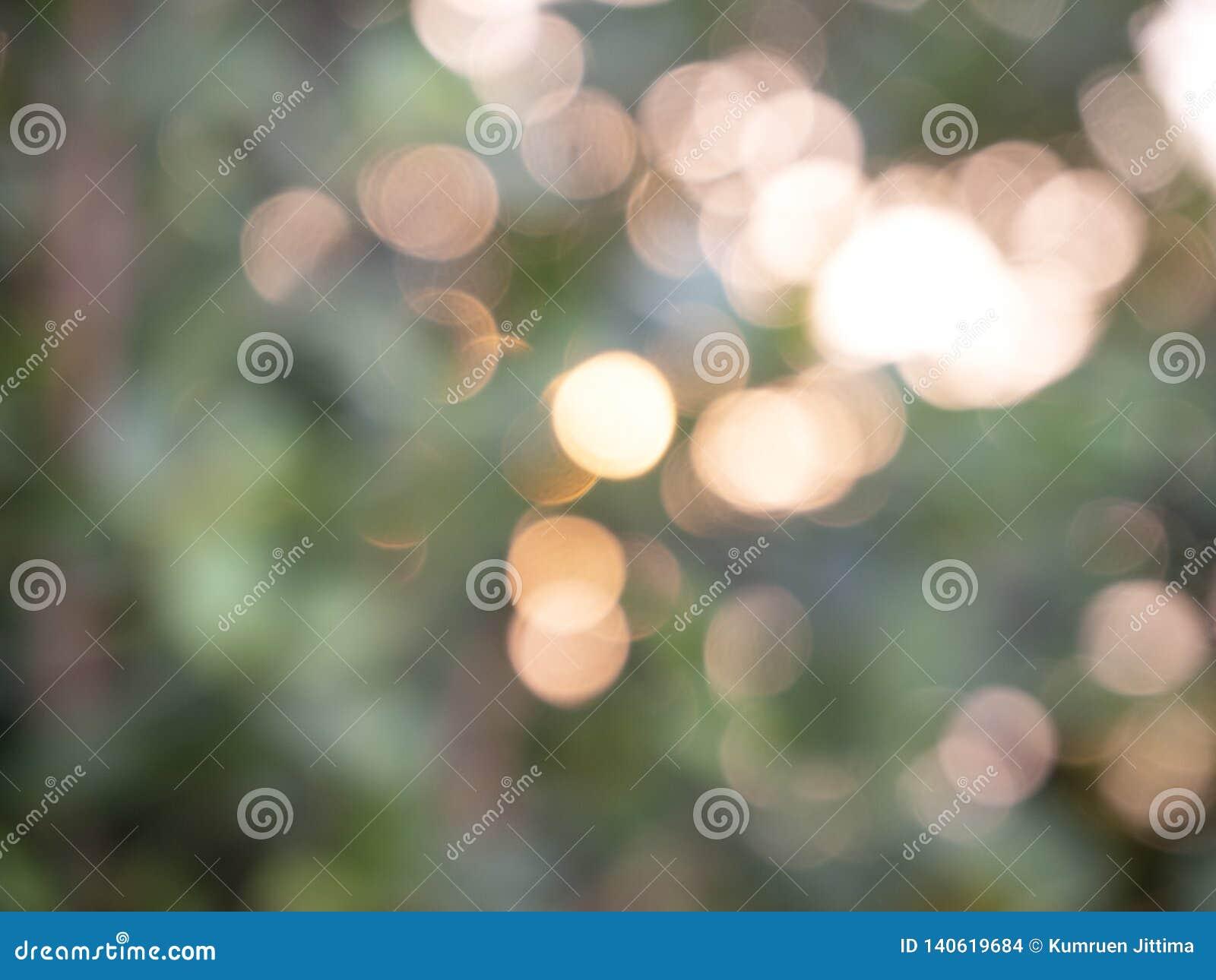 Bokeh abstracto de las luces del fondo