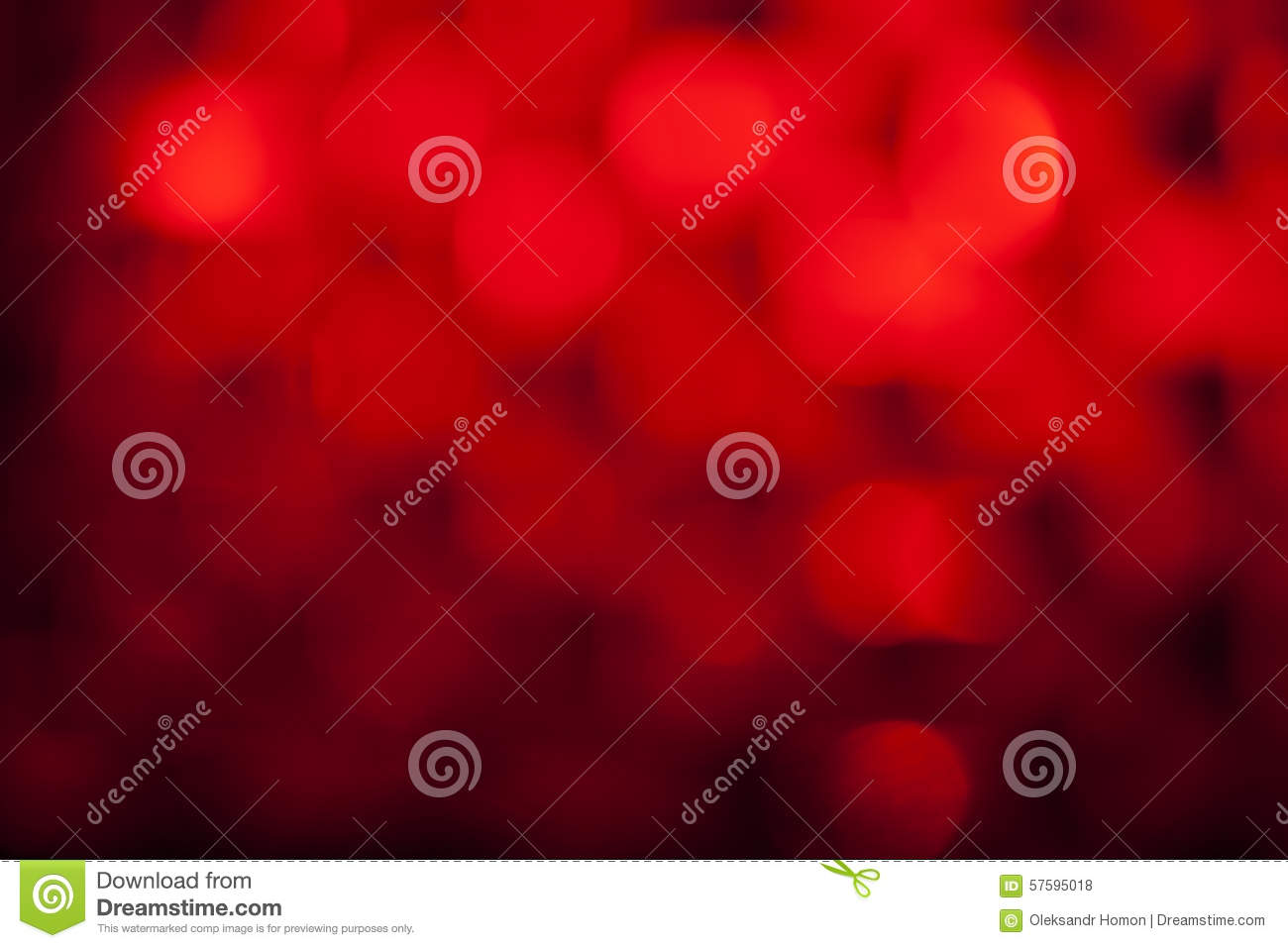 Bokeh background abstract