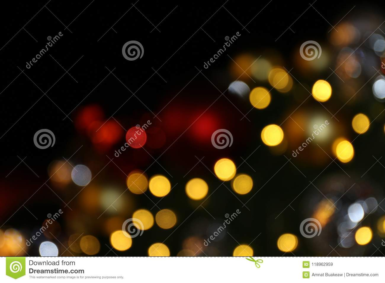 bokeh background colorful of merry christmas happy new year bokeh lighting shine on night background