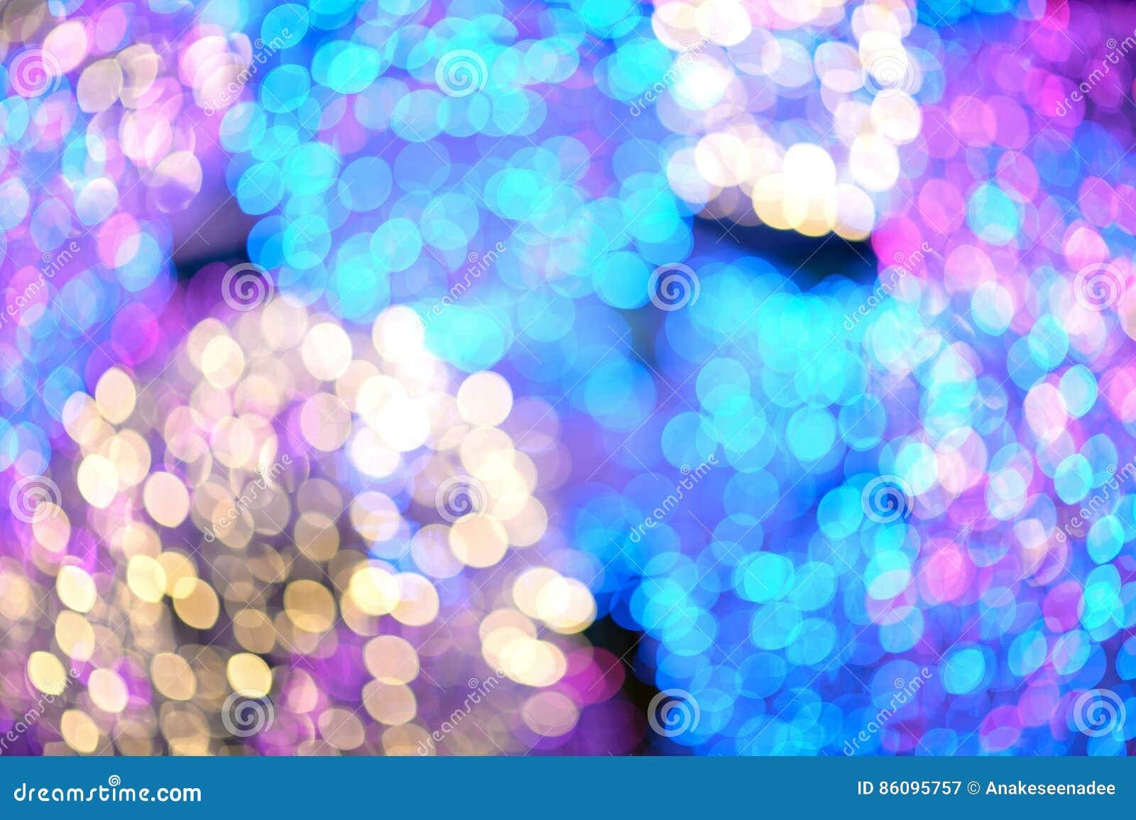 Bokeh color full stock illustration  Illustration of blue - 86095757