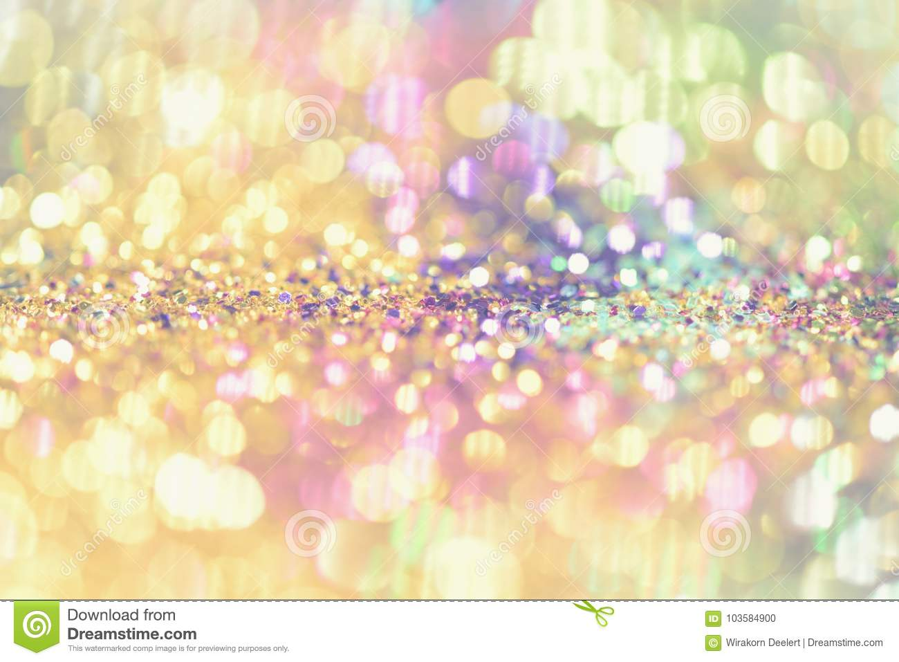 bokeh colorfull blurred abstract background for birthday