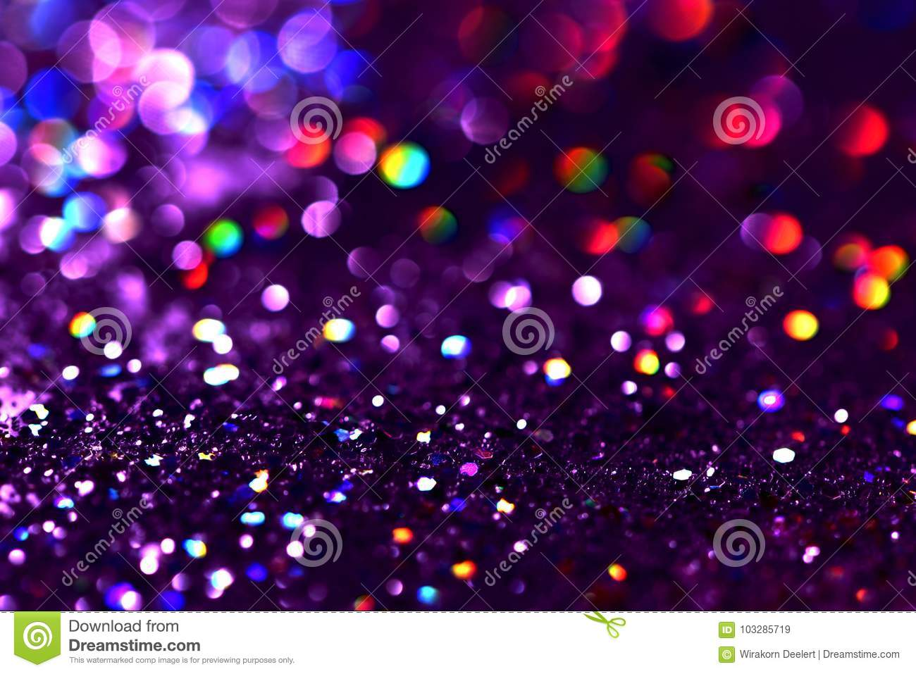 Download Bokeh Colorfull Blurred Abstract Background For Birthday, Anniversary, Wedding, New Year Eve Or Christmas Stock Image - Image of bokeh, background: 103285719