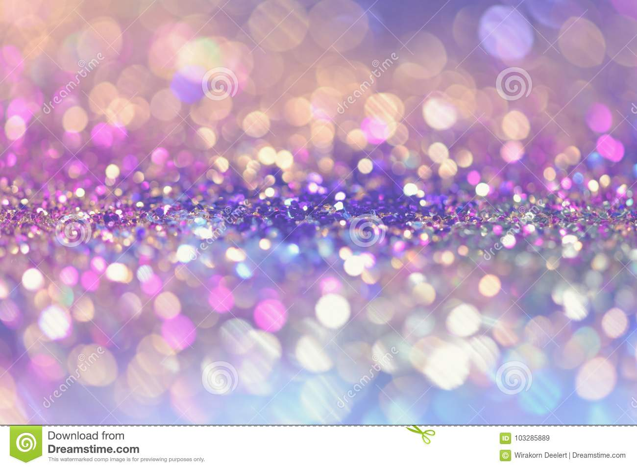 bokeh Colorfull Blurred abstract background for birthday, anniversary, wedding, new year eve or Christmas