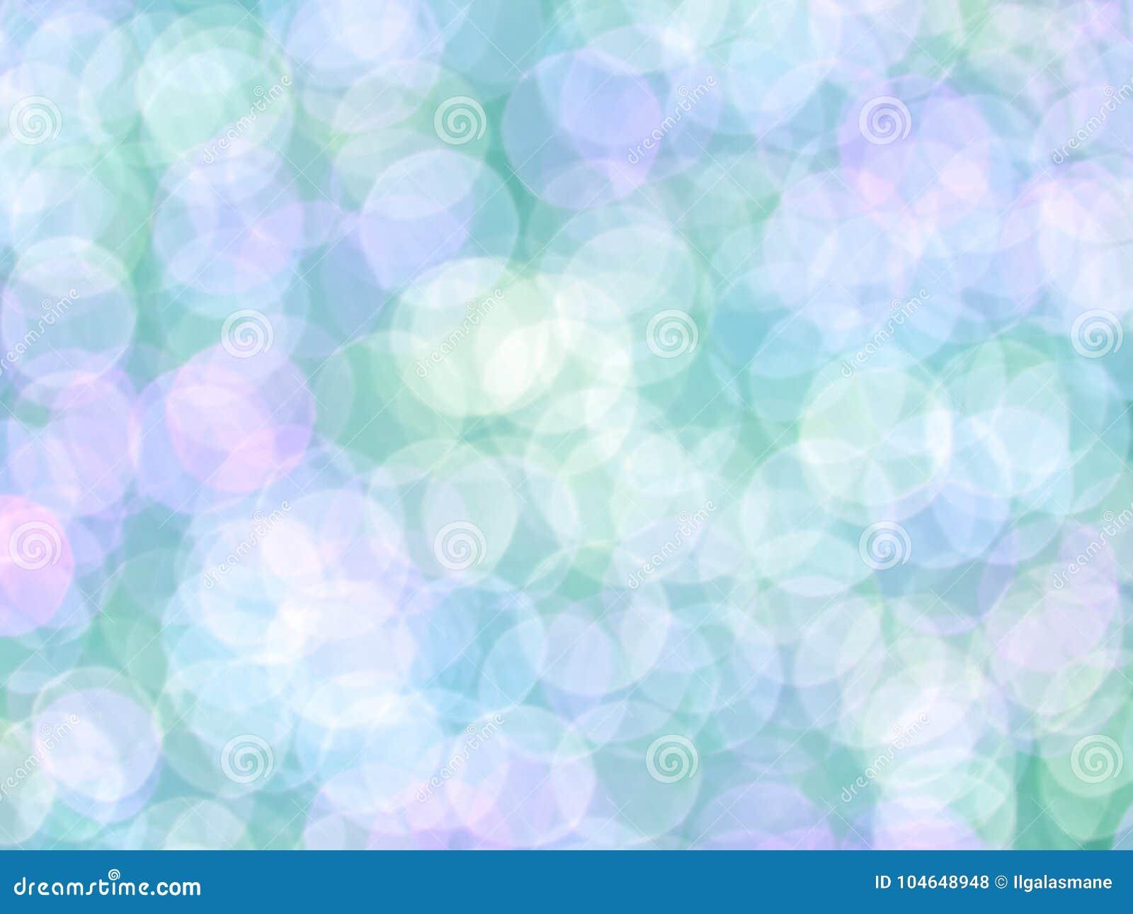 Bokeh colorido romântico abstrato para o fundo