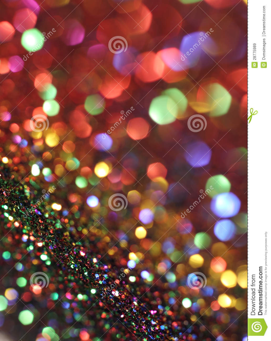 rainbow bokeh red glitter - photo #21