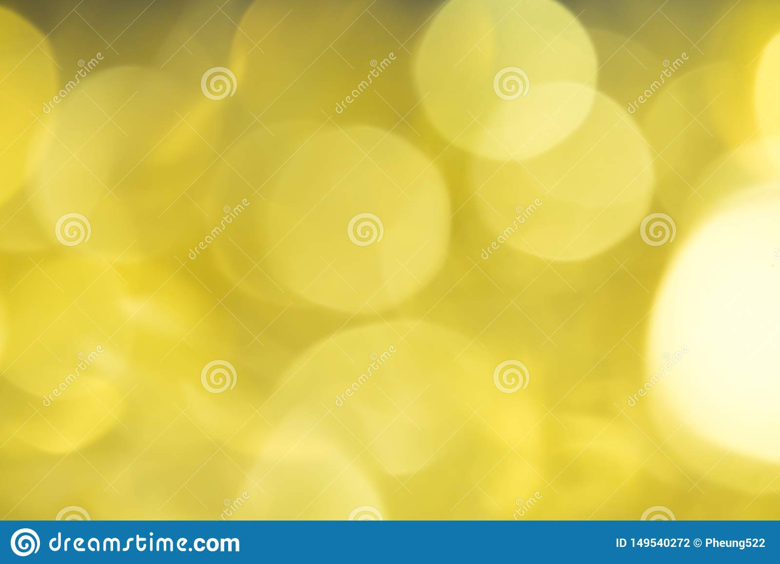 Bokeh golden background beautiful. Conception Christmas