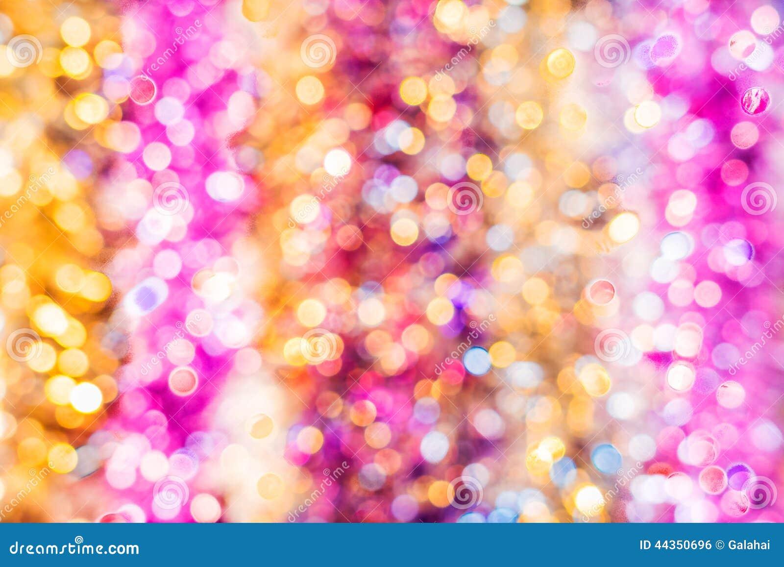 Bokeh multicolore festivo di Natale