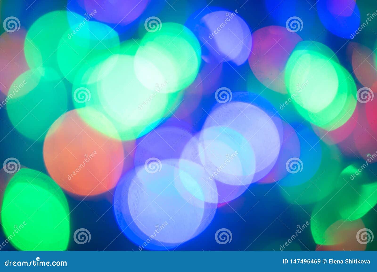 Bokeh r 欢乐色的光