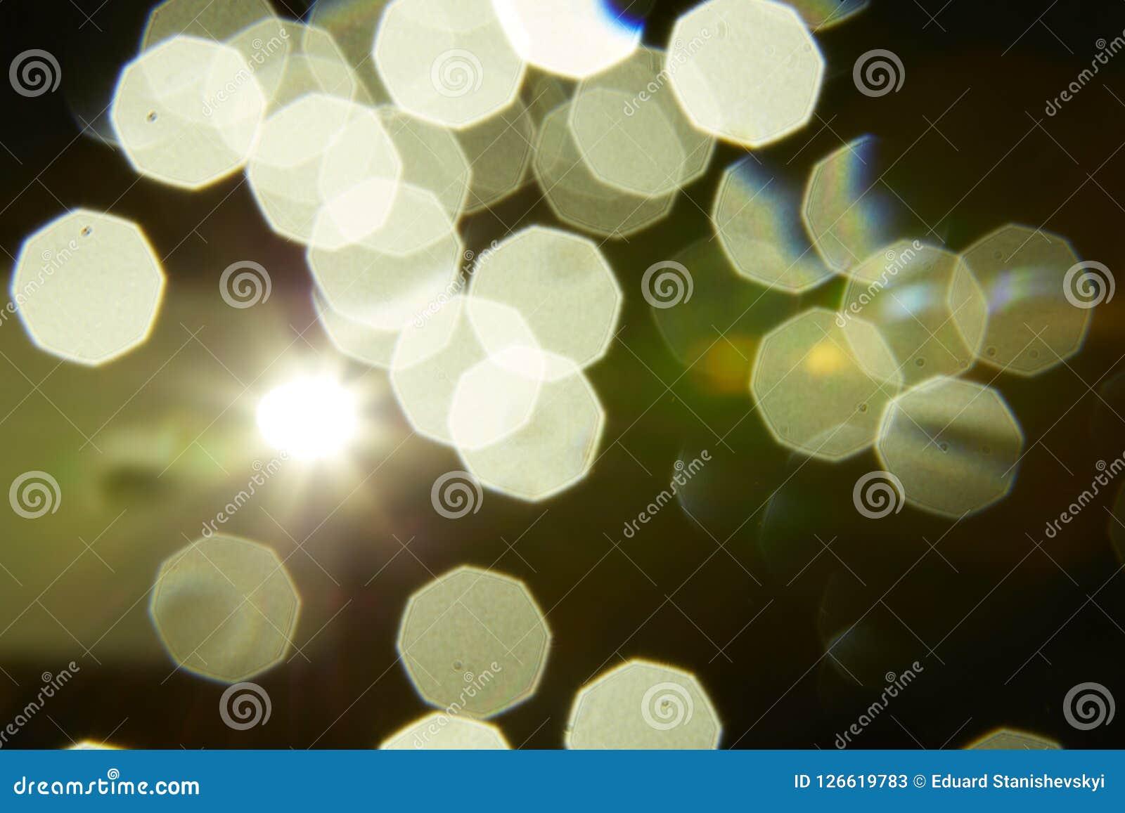 Bokeh samkopiering med ljus