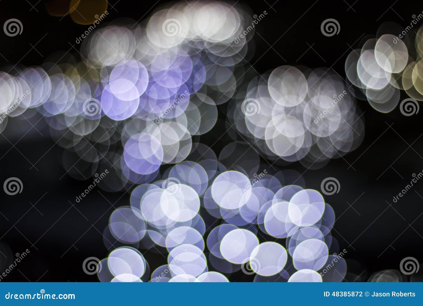 Bokeh of Seasonal Lights