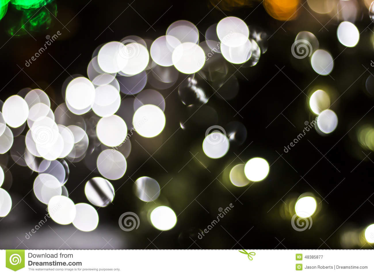 Bokeh of Seasonal Lights