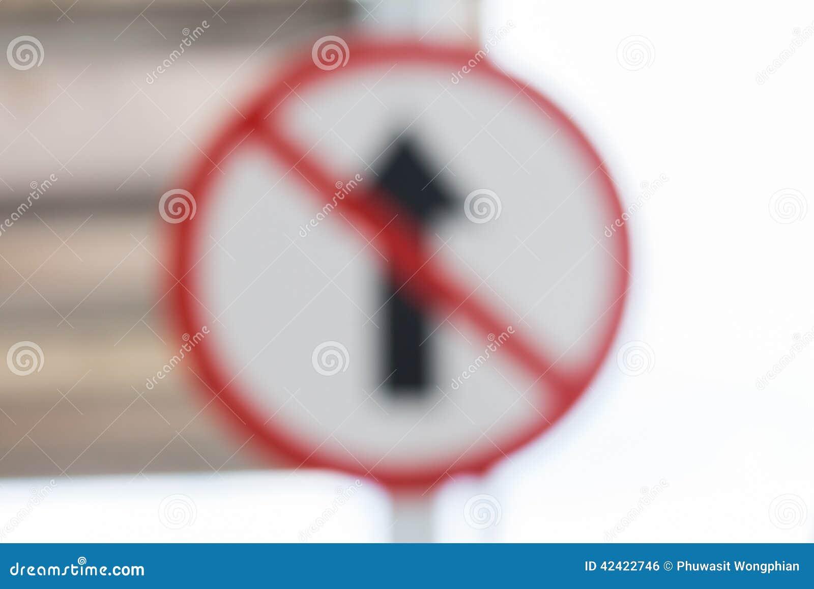 Bokeh Traffic signs