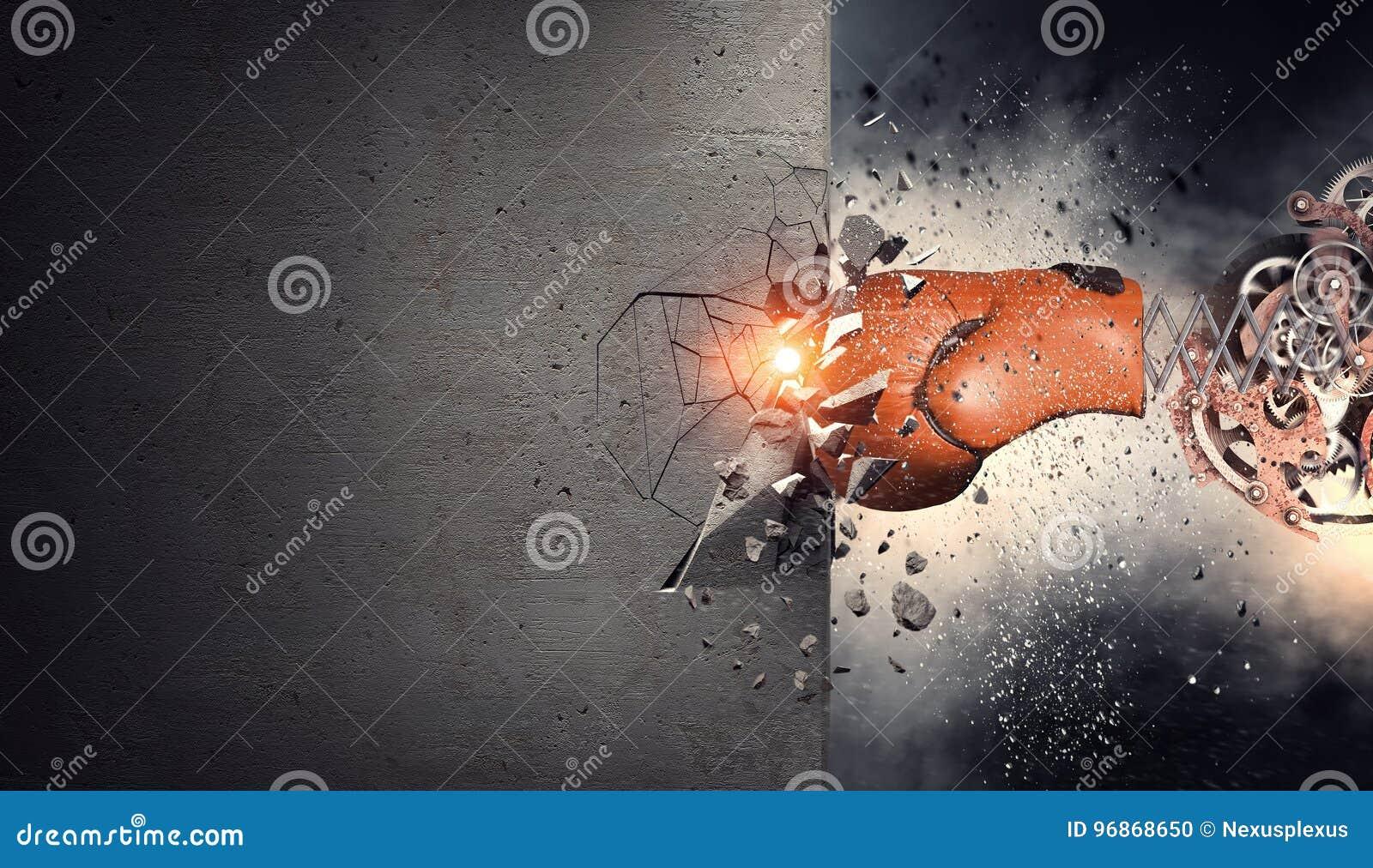 Bokserskiej rękawiczki niespodzianka Mieszani środki