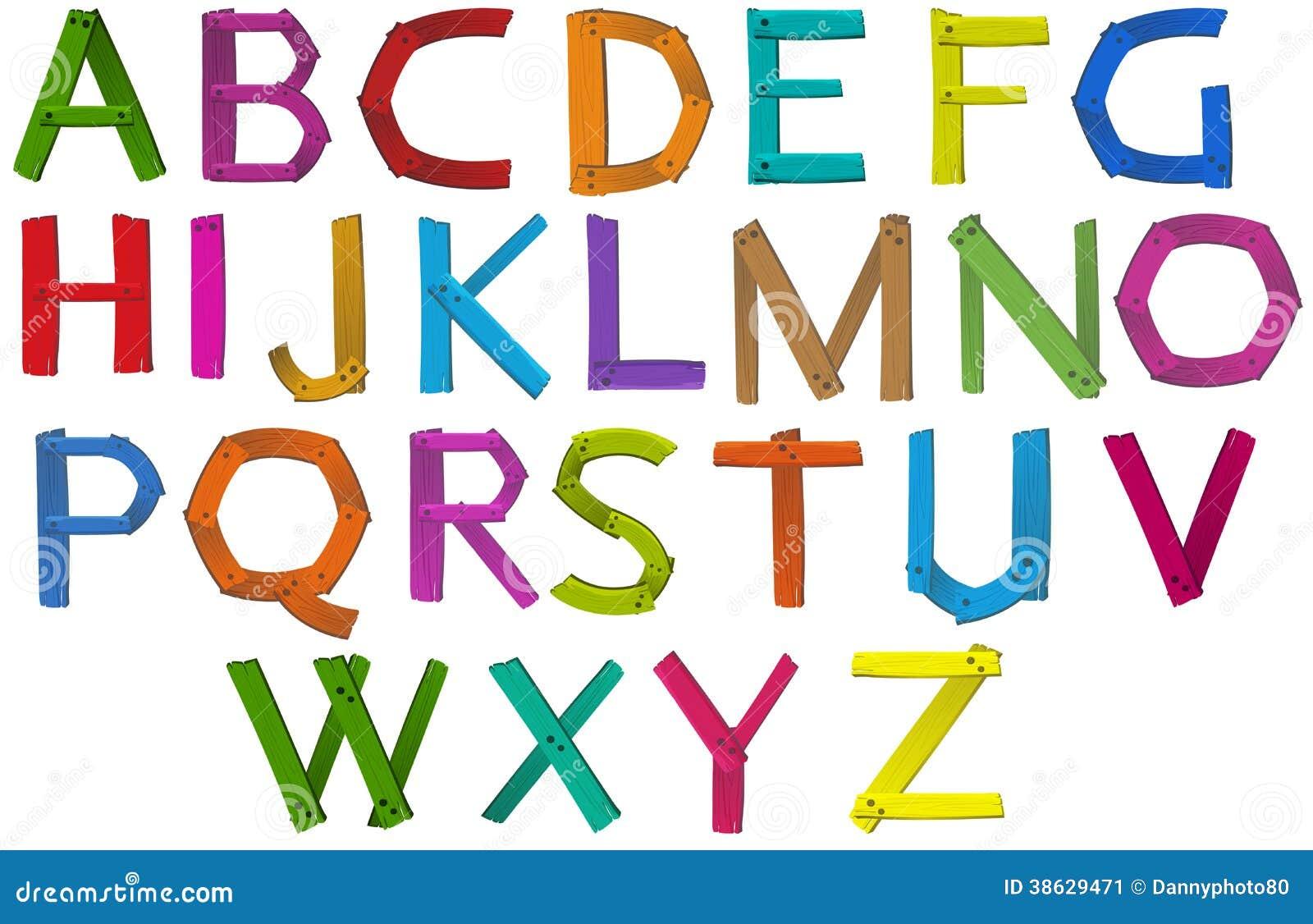 bokstäver i alfabetet