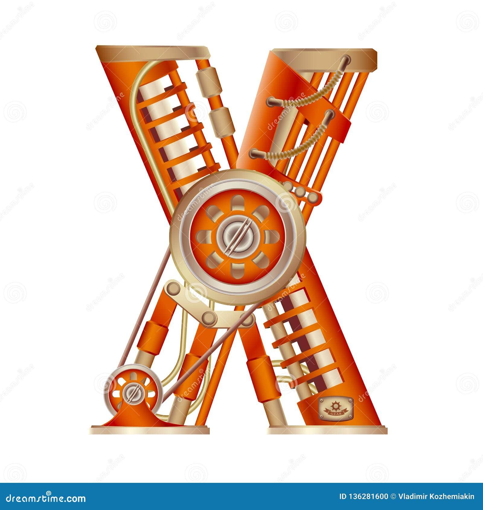 Bokstaven X av det latinska alfabetet