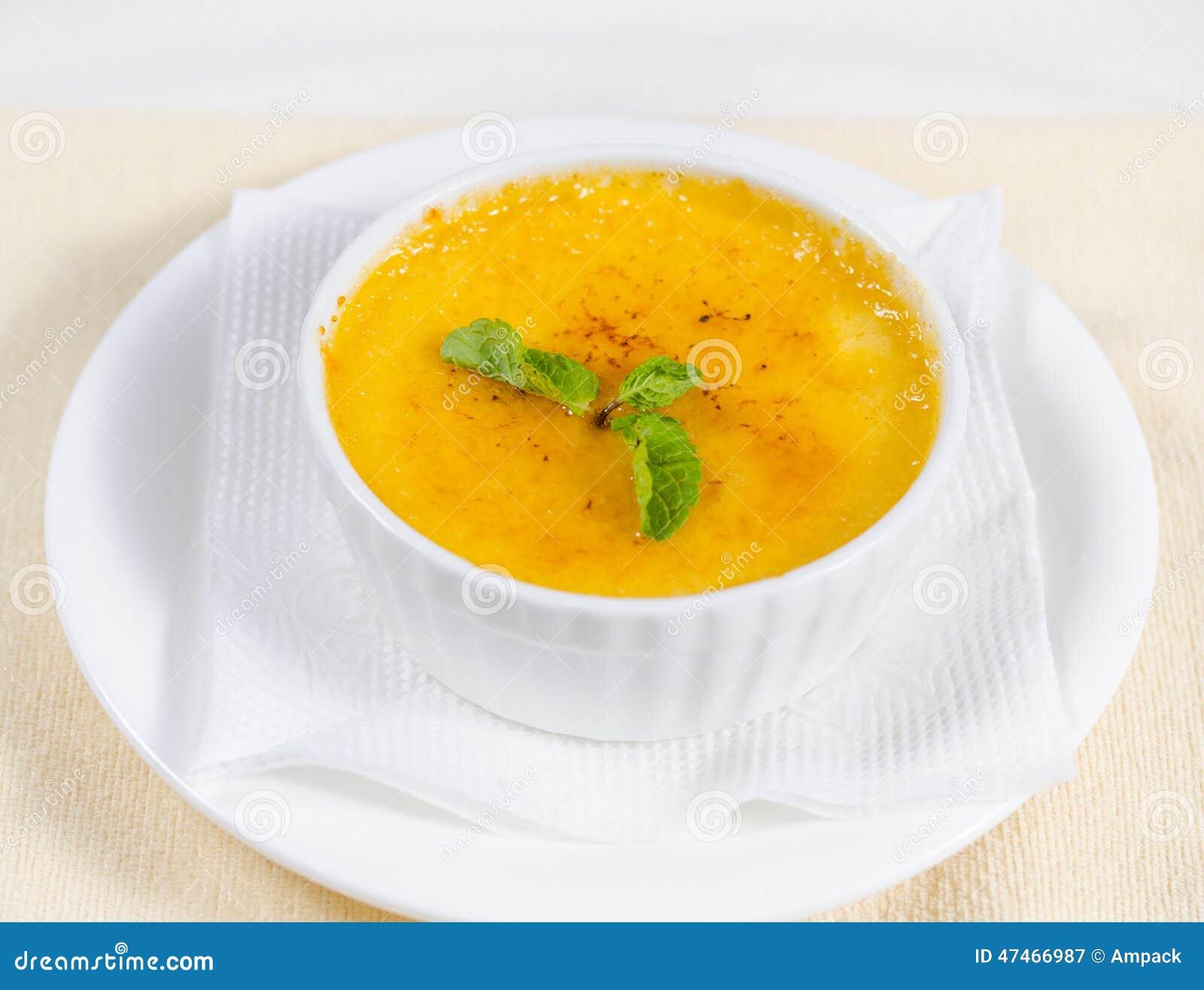 soupe de potiron a la menthe
