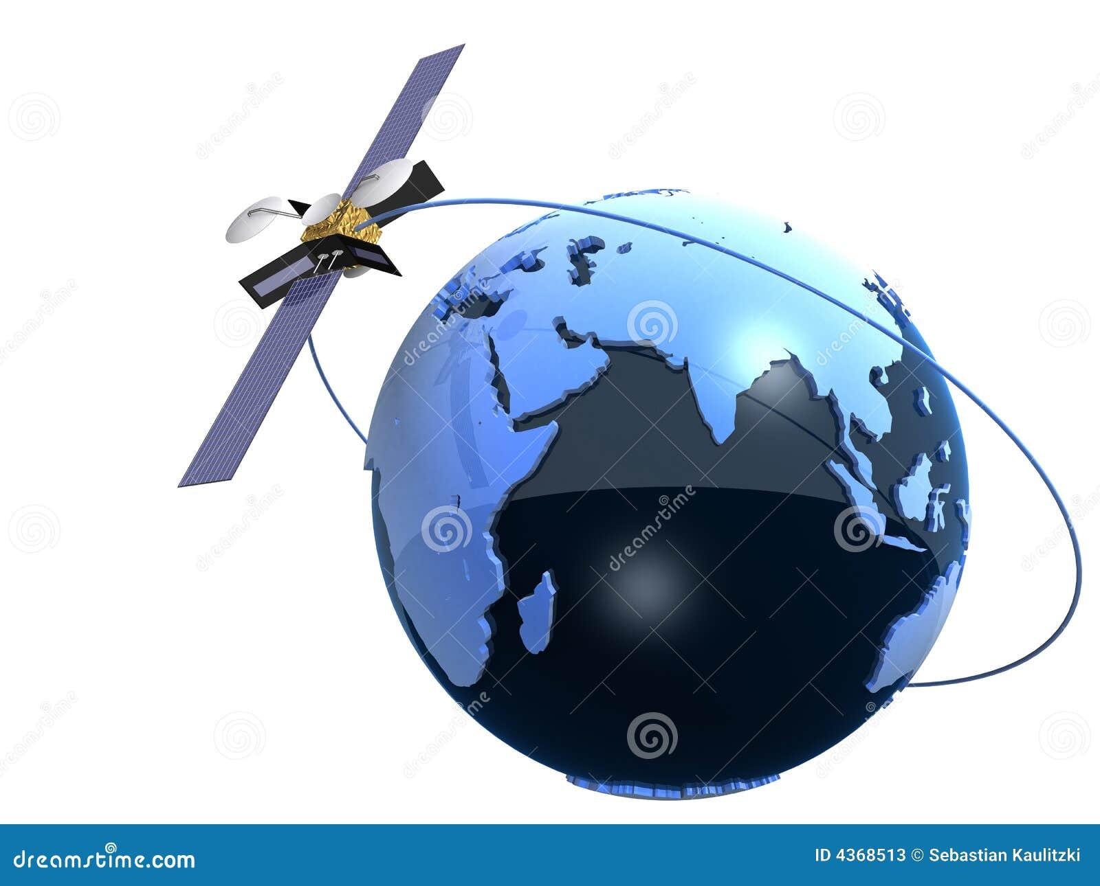 Bol en satelliet
