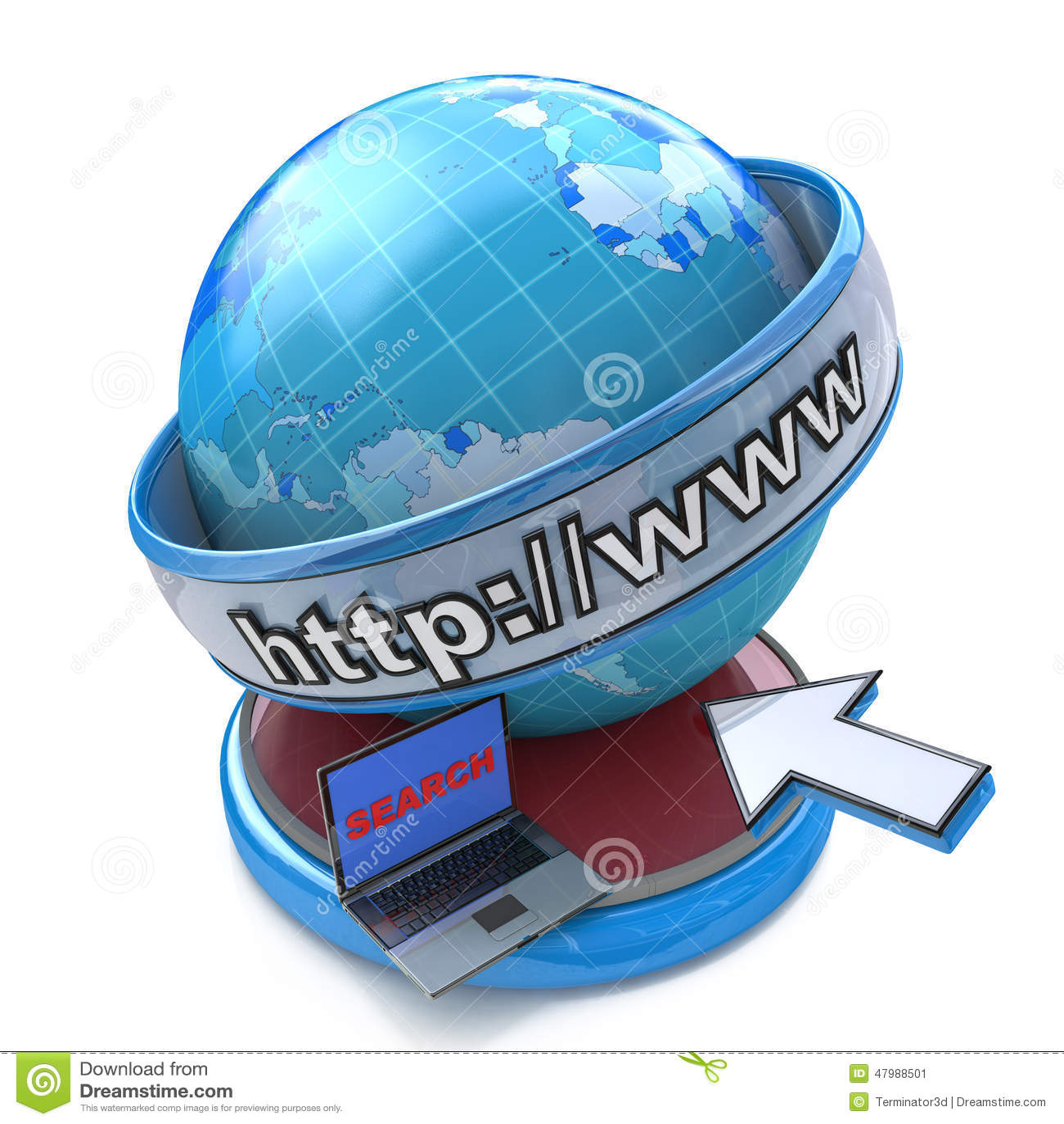Bol Internet die concept, Web-pagina of Internet-browser zoeken