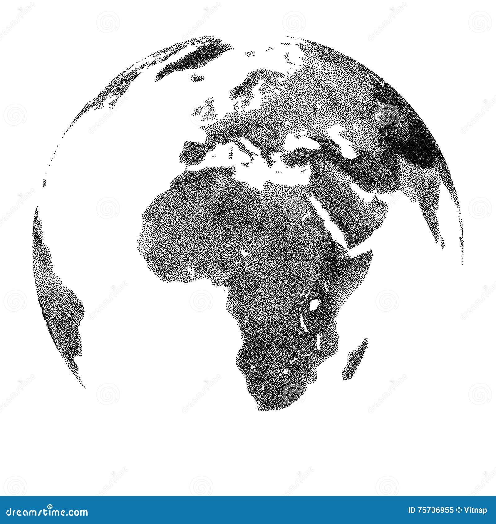 Bol met continentale hulp - de meningen van Afrika