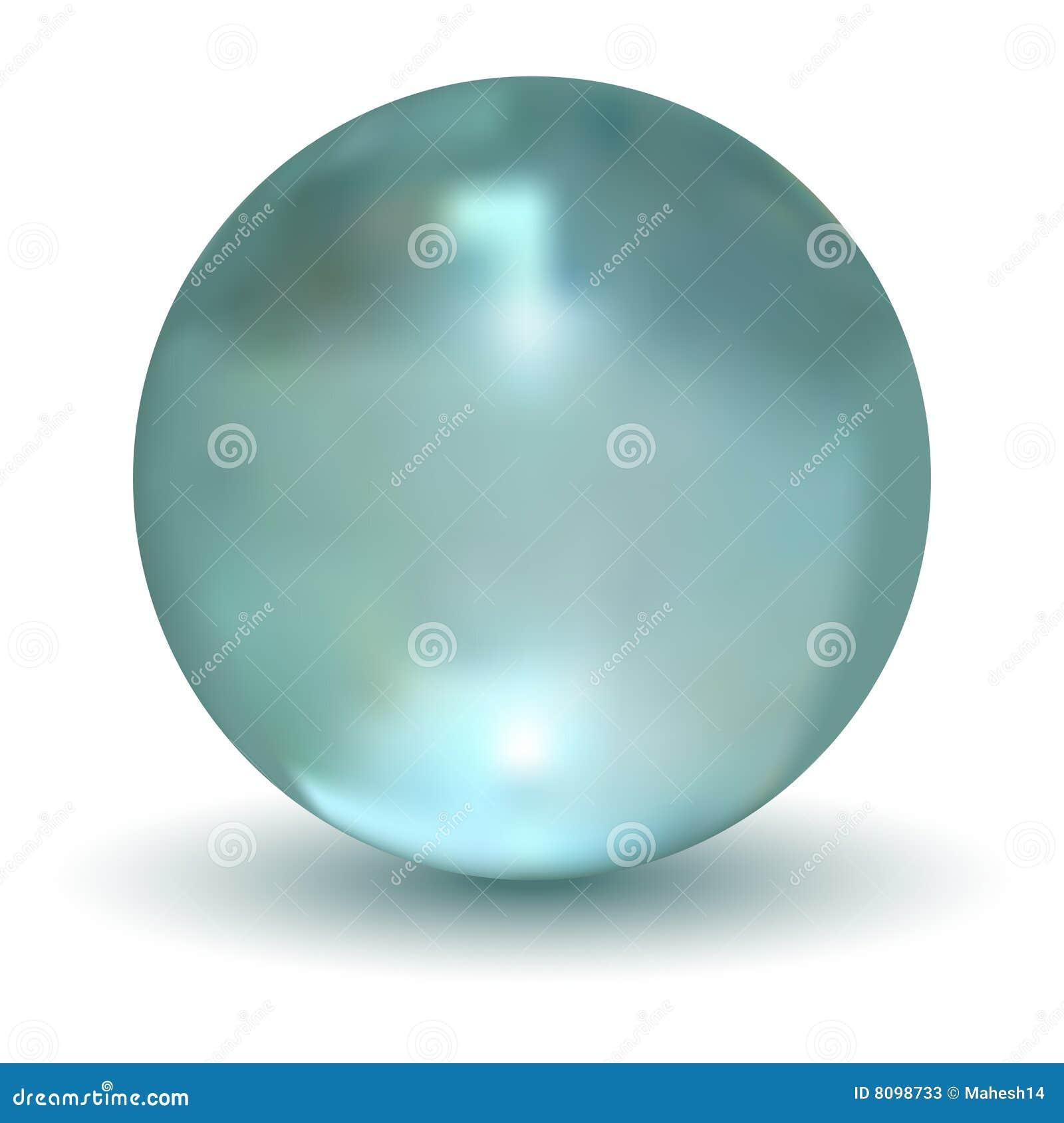 Bola cristalina 3D