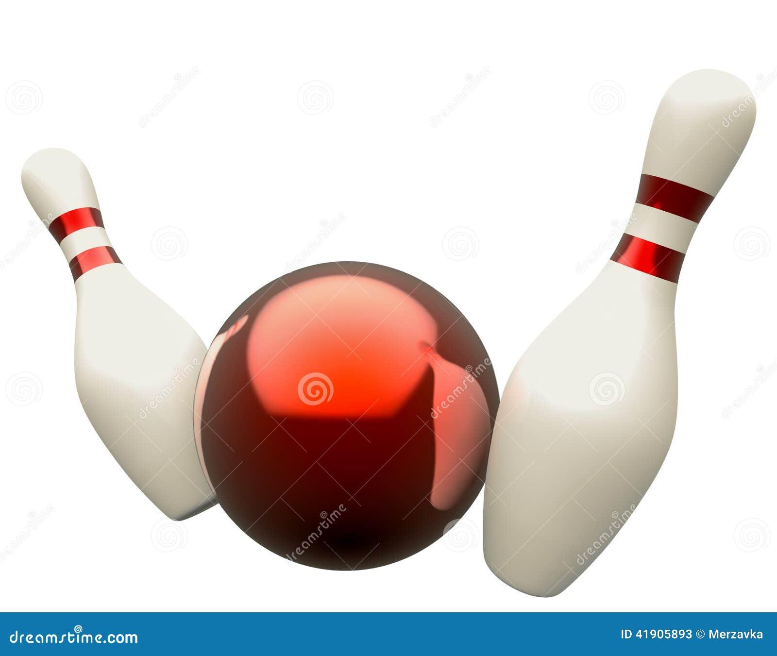 Bola de bowling que causa un crash en los bolos
