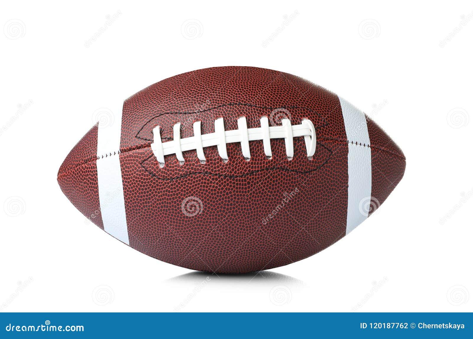 Bola de cuero del fútbol americano