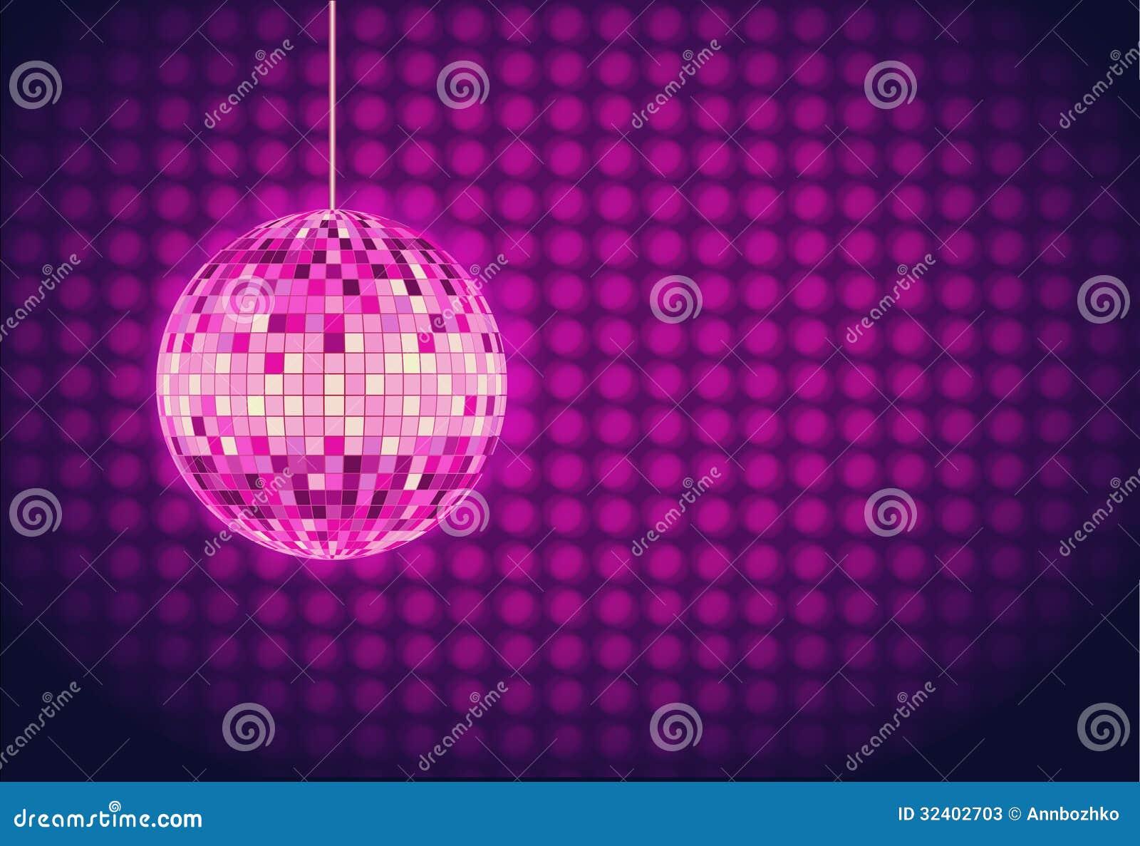 Bola de discoteca fondo del disco fotos de archivo - Bola de discoteca de colores ...